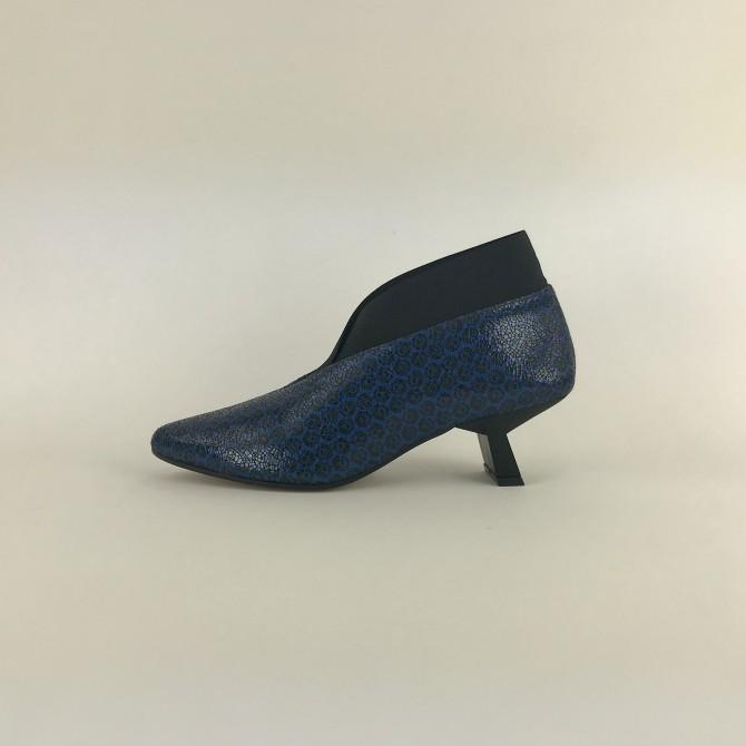 COPETE elastico azul negro
